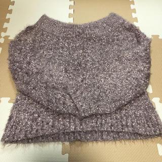 ダブルクローゼット(w closet)のw closet  セーター  サイズFree(ニット/セーター)