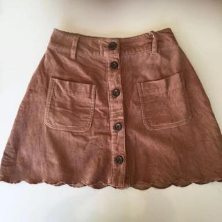INGNI - イング スカラップ スカート