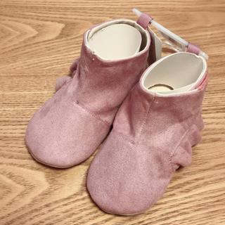 ベビーギャップ(babyGAP)の新品!ベビーギャップ フリルアンクルブーティー ブーツ 12.5cm 13cm(ブーツ)