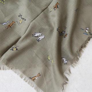 ネストローブ(nest Robe)の今季 オールドマンズテーラー|ファーマーズファミリー ガーゼショール(マフラー/ショール)