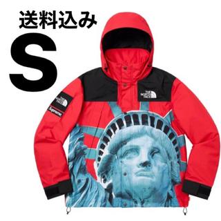 シュプリーム(Supreme)の赤 S(マウンテンパーカー)