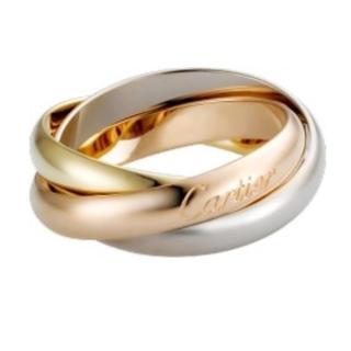 カルティエ トリニティリング(リング(指輪))