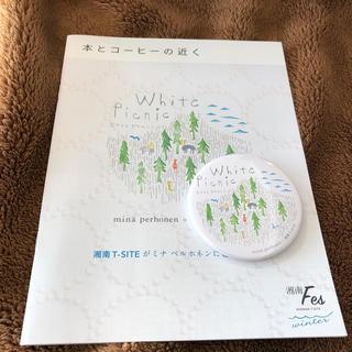 ミナペルホネン(mina perhonen)のミナペルホネン 缶バッジ 湘南T-SITE(バッジ/ピンバッジ)
