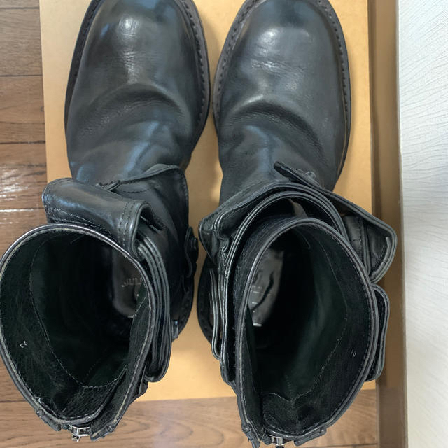 JULIUS(ユリウス)のユリウス ガンホルダー ブーツ メンズの靴/シューズ(ブーツ)の商品写真