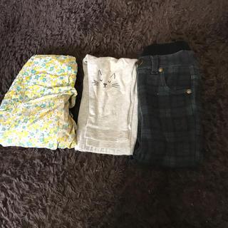 プティマイン(petit main)のpetitmain など 女の子まとめ売り ズボン 75-90サイズ(パンツ/スパッツ)