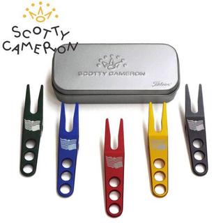 スコッティキャメロン(Scotty Cameron)のスコッティ キャメロン 専用ケース付き ピボットツール  ゴールド(その他)