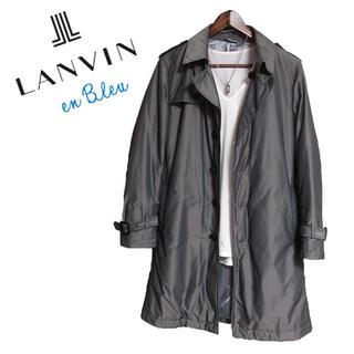 ランバンオンブルー(LANVIN en Bleu)のLANVIN en Bleu トレンチコート ロングコート グレー 高級感(トレンチコート)