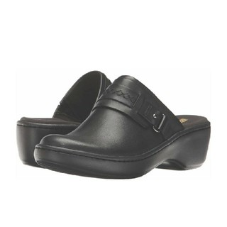 クラークス(Clarks)のクラークス 革 ミュール 26 - 26.5 cm(ローファー/革靴)
