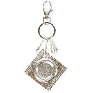 JOHN LAWRENCE SULLIVAN - yoikadakada Metal keychain/Silver コンドーム