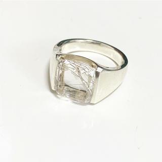 アガット(agete)のagete リング 指輪 新品未使用 クリスタルクォーツ クリスマスプレゼントに(リング(指輪))