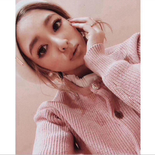 eimy istoire - 未開封♡ピンク♡eimyエイミー♡ポイントフリルニットカーディガン♡