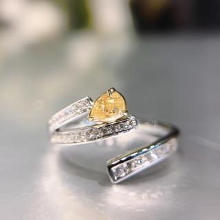 ライトセールイエローダイヤモンド指輪(リング(指輪))