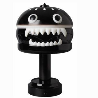 メディコムトイ(MEDICOM TOY)のUNDERCOVER HAMBURGER LAMP ハンバーガーランプ ブラック(テーブルスタンド)