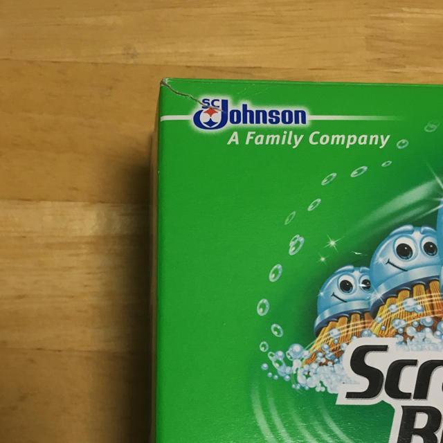 Johnson's(ジョンソン)の流せるトイレブラシ インテリア/住まい/日用品の日用品/生活雑貨/旅行(日用品/生活雑貨)の商品写真