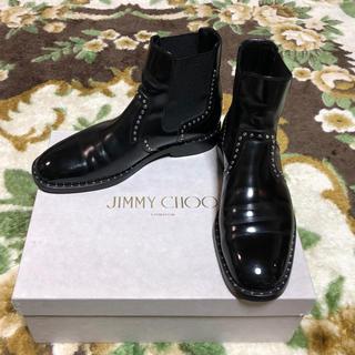 JIMMY CHOO - 定価税込¥145200 Jimmy Choo スタッズブーツ ルブタン チャーチ
