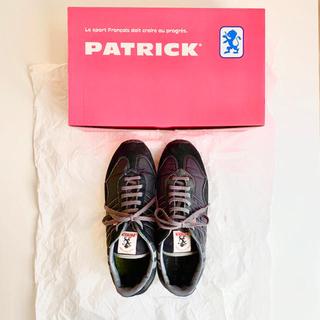 パトリック(PATRICK)のPATRICK(パトリック) スニーカー STADIUM ブラック 25cm(スニーカー)