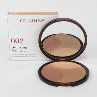 クラランス(CLARINS)の数量限定 クラランス ブロンズ コンパクト 02 サンライズグロー(フェイスパウダー)