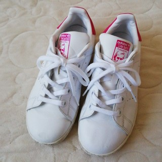 adidas - adidas スタンスミス 紐 ピンク 20.0