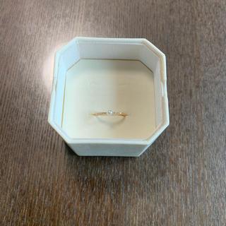 ヨンドシー(4℃)の12/8まで期間限定値下げ!4℃k18ピンクゴールドリング(リング(指輪))