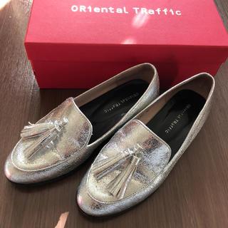 オリエンタルトラフィック(ORiental TRaffic)の《ORiental TRaffic》シルバー パンプス(ローファー/革靴)