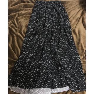 DouDou - DouDou ドットスカート フリーサイズ