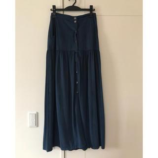 LIMITLESS LUXURY - ほぼ新品 Limitless Luxury マキシ丈スカート ロングスカート