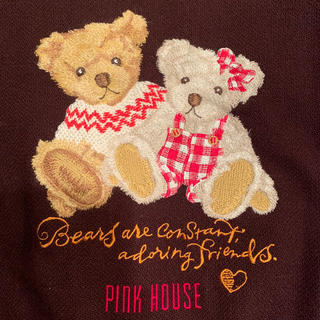 PINK HOUSE - PINK HOUSE クマちゃん刺繍 スタジャン