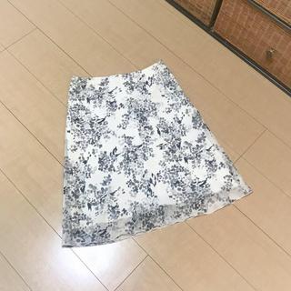 インディヴィ(INDIVI)の【新品】INDIVI フレアスカート (ひざ丈スカート)
