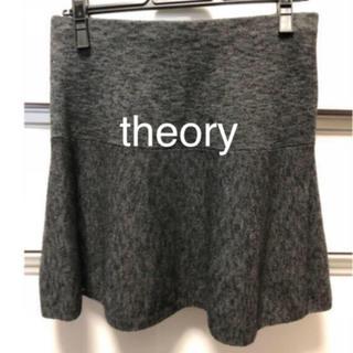 セオリー(theory)のtimesale★ theory ニットスカート S (ミニスカート)