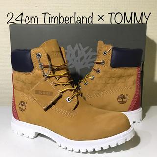 ティンバーランド(Timberland)の【超激レア‼️新品】24cm ティンバーランド × TOMMY コラボ(ブーツ)