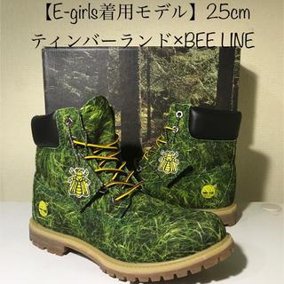 ティンバーランド(Timberland)の【超激レア‼️E-girlsモデル】25cmティンバーランド×BEE LINE(ブーツ)