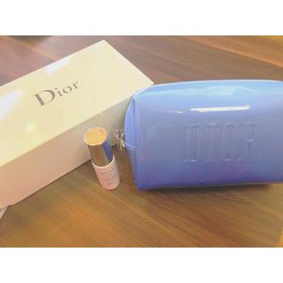 ディオール(Dior)のDior Diorsnow下地 ノベルティポーチ(その他)