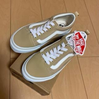 VANS - 新品 【vans スニーカー OLDSKOOL 22cm】