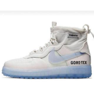ナイキ(NIKE)のNike Air Force 1 WTR Gore-Tex White 25.5(スニーカー)