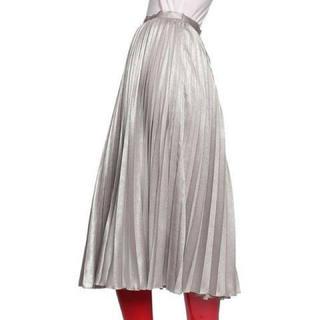 ダブルスタンダードクロージング(DOUBLE STANDARD CLOTHING)のダブルスタンダードクロージング ☆ブライトマットアコーディオンスカート(ロングスカート)