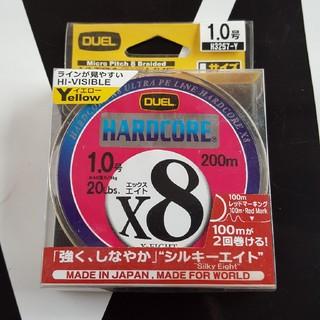新品未開封 ハードコアX8 1号 200メートル(釣り糸/ライン)