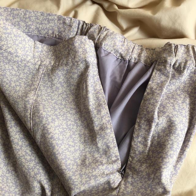 Kastane(カスタネ)のkastane ロングスカート 薄紫 レディースのスカート(ロングスカート)の商品写真