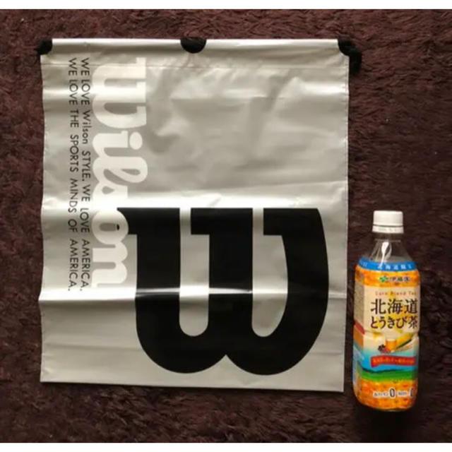 wilson(ウィルソン)のウィルソン ビニールバックとメモ帳 スポーツ/アウトドアのテニス(バッグ)の商品写真