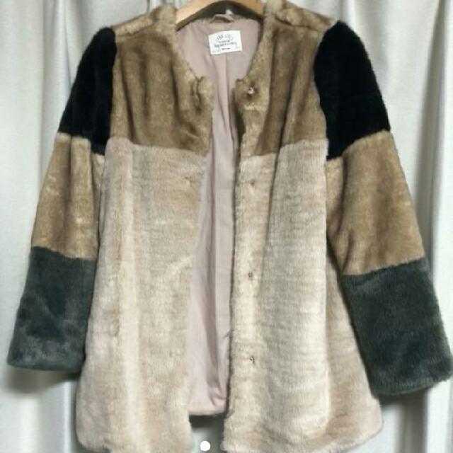 ZARA KIDS(ザラキッズ)のキッズザラ  レディースのジャケット/アウター(毛皮/ファーコート)の商品写真