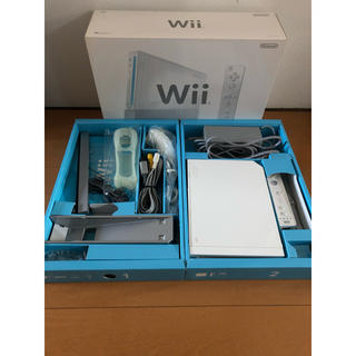 Wii - wii 本体 シロ ホワイト ニンテンドー 任天堂 リモコン 中古 純正 白