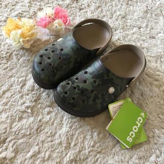 crocs - 新品未使用♪クロックスサンダル 25.0cm