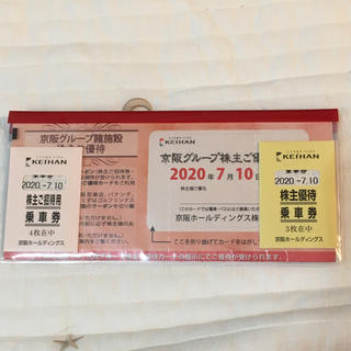 ばんり様専用 京阪ホールディングス 株主優待(鉄道乗車券)