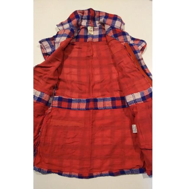 eaB(エーアーベー)のe.a.B エーアーベー・チェック ワンピース 130 キッズ/ベビー/マタニティのキッズ服女の子用(90cm~)(ワンピース)の商品写真