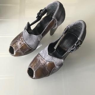 ユナイテッドバンブー(united bamboo)の新品 united bamboo オープントゥ パンプス サンダル 靴 (ハイヒール/パンプス)