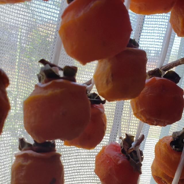山形ブランド品 鳥海山麓庄内産 あんぽ柿 干し柿 25-30個 食品/飲料/酒の食品(フルーツ)の商品写真