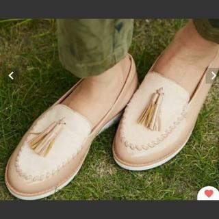 オデットエオディール(Odette e Odile)の新品 半額! フィットフロップ ハラコ タッセルローファー(ローファー/革靴)