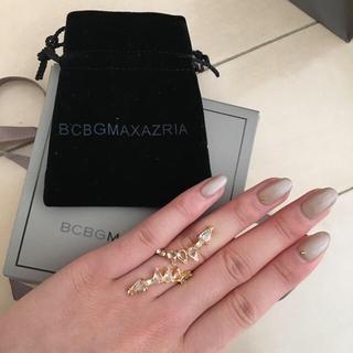 ビーシービージーマックスアズリア(BCBGMAXAZRIA)のあいにゃん様専用❗️(リング(指輪))