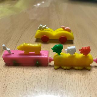 グリコ - 昭和 グリコのおまけ 動く車セット