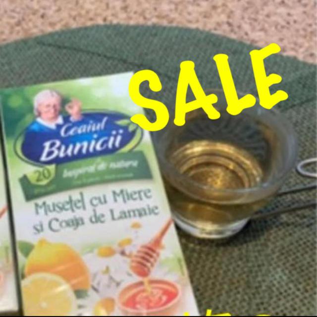 カモミールティー(はちみつ&レモン) ハーブティー 食品/飲料/酒の飲料(茶)の商品写真