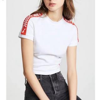 プーマ(PUMA)のPuma fenty By Rihanna   tee Lサイズ(Tシャツ(半袖/袖なし))